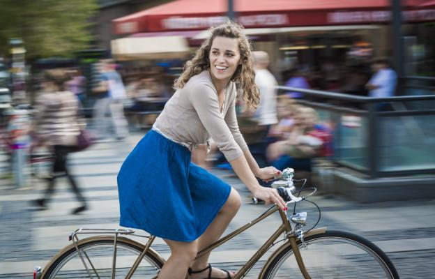 Rakete Damenrad Mixte in Perlgold auf Alexanderplatz Berlin