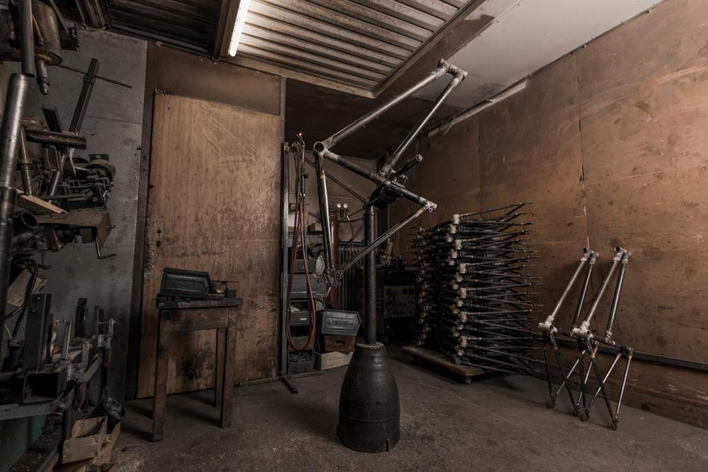 Rakete gemuffte Stahlrahmen handgemacht in Deutschland