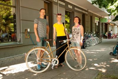 Magda von Mundraub, Gewinnerin Julia und Daniel von RAKETE und das Mixte