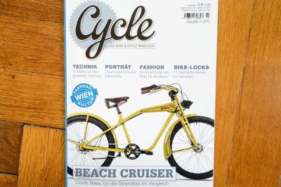 Unser RAKETE Randonneur in der Mai Ausgabe des Radmagazins Cycle