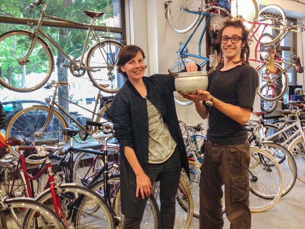 RAKETE Ziehung der Gewinner des Zitty Spezialhefts Fahr Rad